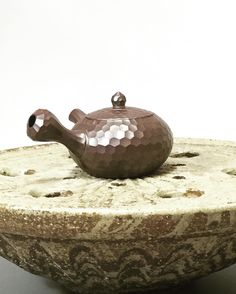 Banko Kikko cut small teapots by Iroku (1936-2014) 75/95ml #japanesepottery #japaneseceramics #teaware #pottery #ceramics #teapot #kyuusu #kyusu #teatime #sencha #oolong #banko