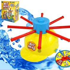 Wet Head Hat Water Game Challenge Wet Jokes And toy funny Roulette Game toys Gags & Practical Jokes For April Fools' Day #Affiliate