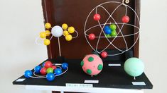 Science Experiments For Middle School Projects 68 Ideas Atom Model Project, Science Project Models, Cool Science Fair Projects, Teaching Chemistry, Cool Science Experiments, Science Chemistry, Science Teacher Gifts, Science Classroom, Bohr Model