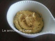 Le amiche di Dona - Appunti di cucina: Ricetta Hummus di ceci