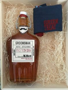Grooms Labels - Spirits Labels - Personalized Groomsman and Best Man Whiskey Labels - Custom Grooms Gifts