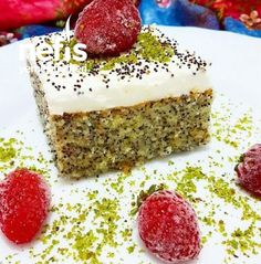 Turkish Recipes, Ethnic Recipes, Everyday Food, Vanilla Cake, Food To Make, Cheesecake, Brunch, Food And Drink, Healthy Recipes