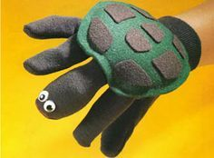Garden Glove Turtle Puppet - Crafts 'n things