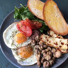 Greek Brekkie at The Verandah Newcastle Cafe Greek Recipes, Weight Management, Newcastle, Lunch, Breakfast, Food, Morning Coffee, Eat Lunch, Eten