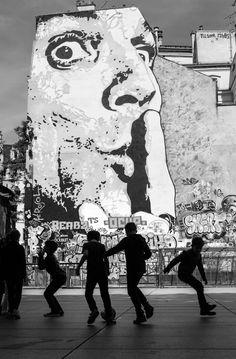 Photo Illustrations, Street Artists, Mount Rushmore, Graffiti, Explore, Mountains, Abstract, Nature, Paris Street