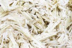 This is Bagasse. The raw material for many of our products. It is whats left after sugar has been extracted from sugar cane.  i.e. It is a byproduct from the sugar cane industry.