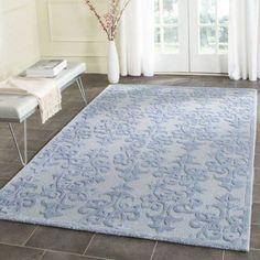 Safavieh Bella Galena Hand-Tufted Wool Area Rug, Blue