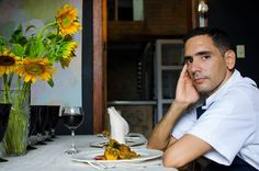 Dayron Ávila, chef Le Chansonnier Actually in Cuba we are trying to make gourmet, but to say so emphatically that we do it … there is not true.