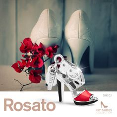 #Rosato Jewels #charm #shoes #red #woman