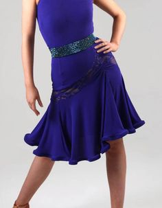 DSI Abbie Latin Dance Skirt 3455
