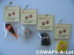 SWAPS-A-Lot - Mini My Pet Furry Friend SWAPS Kit for Girl Kids Scout (25)