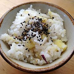 ほっくほくです(^-^) - 16件のもぐもぐ - さつまいもご飯 by nishimakigohan
