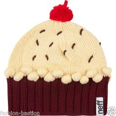 For wintertime... a hat with a cherry on top :)