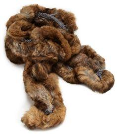 Scala Women's Rabbit Fur Scarf: http://www.amazon.com/Scala-Womens-Rabbit-Fur-Scarf/dp/B006H16NHA/?tag=wwwhaydarsana-20