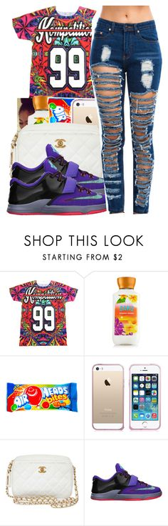 """Wus Good / Curious~12/17/14"" by glow-pop ❤ liked on Polyvore featuring Amie, Chanel, NIKE, women's clothing, women's fashion, women, female, woman, misses and juniors"