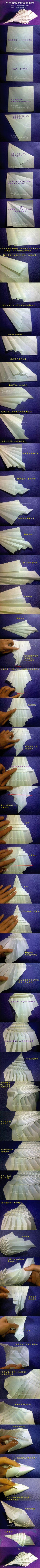 Gorgeous conch origami tutorial