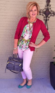 50 Is Not Old | Pink Is My Favorite Color | Pink = Spring | Fashion over 40 for the everyday woman