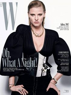 Cover - Best Cover Magazine  - W Korea Lara Stone by Matt Easton. Woo Lee, December 2017   Best Cover Magazine :     – Picture :     – Description  W Korea Lara Stone by Matt Easton. Woo Lee, December 2017  -Read More –