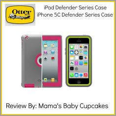 Holiday Gift Guide: Otterbox for iPad and iPhone 5C. Pink. Grey. Green. Electronics