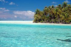 Tahaa Motu, French Polynesia ✯ ωнιмѕу ѕαη∂у Seven Wonders, Henri Matisse, Salt And Water, South Pacific, French Polynesia, Tahiti, Trippy, New Zealand, Ocean