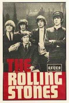 Pierre Fouf, The Rolling Stones Decca Disques, promo poster for the Olympia, Paris, 1965 The Rolling Stones, Rolling Stones Album Covers, Rolling Stones Albums, Rock And Roll, Keith Richards, Mick Jagger, U2 Poster, Rock Indé, Rock Band Posters