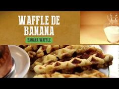 ▶ Waffle de Banana - Banana Waffle - YouTube