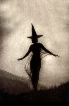 witch halloween silhouette photo
