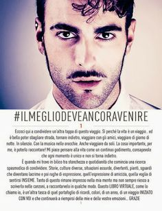 Life after Helsinki 2007 Eurovision: MARCO MENGONI RELEASES iBOOK