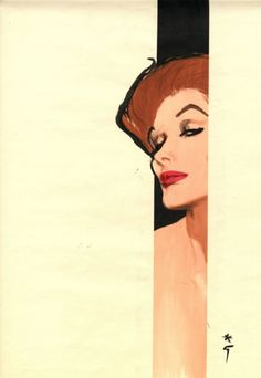by rené gruau   daily needs of a glamour queen