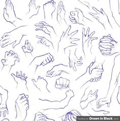 Drawing Hands Different Poses | How to Draw Hands: 35 Tutorials, How-To's, Step-by-Steps, Videos ...