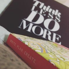 Two new purchases today... Both to declutter my mind!  Having said that I'll buy anything with a William Morris pattern on it... #organisation #williammorris #pattern #notebook #ideasbook #idea #ideas #books #bookworm #letsdothis #listwriter #lists #organise #list #notepad #thinkless #domore #write #plan #create