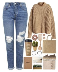 """""""Here"""" by annaclaraalvez ❤ liked on Polyvore featuring Topshop, H&M, Manebí, Laura Ashley, Kate Spade, Nearly Natural, Linda Farrow, Philip Kingsley and Michael Kors"""