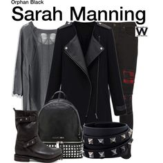 Inspired by Tatiana Maslany as Sarah Manning on Orphan Black.