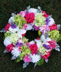 Deluxe Hydrangea Pivoňka Lilly věnec, Extra Large a Lush Floral Wreath, Front Door Spring & Summer věnec, svatební věnce, Shabby Chic Věneček