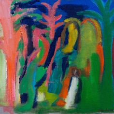 Penelope Stutterheime / Transition III / oil on canvas / 35 x 35 cm
