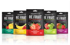 Awesome Foods - RE FRUIT on Behance