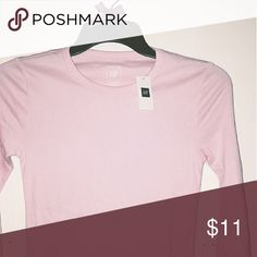 Selling this GAP-Basic Long Sleeve Crew Tee on Poshmark! My username is: jmrdgz. #shopmycloset #poshmark #fashion #shopping #style #forsale #GAP #Tops