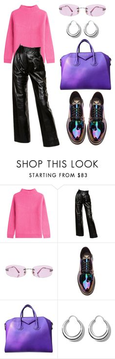 """""""#177"""" by lera-topor ❤ liked on Polyvore featuring Diane Von Furstenberg, Yves Saint Laurent, Chanel, Dr. Martens, Givenchy and All Blues"""