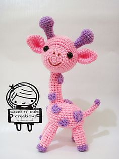 Ravelry: Amigurumi Gigi the Giraffe pattern by Sweet N' Cute Creations
