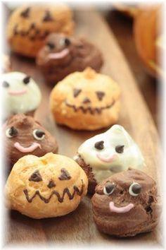 Halloween cream puff