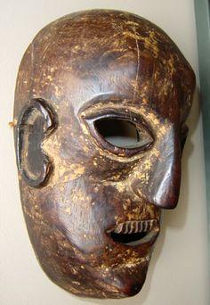 MASKS OF TEBET   Tibetan Ritual Objects - Mask of a Man, Tamang, Middle Hills, Nepal ...