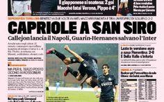 Rassegna Stampa, Milan avanti a Verona mentre l'Inter pareggia in casa con il Napoli #napoli #inter #calcio #seriea #figc