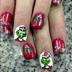 christmas by dndang  #nail #nails #nailart