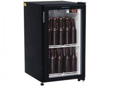 Cervejeira/Expositor Vertical 1 Porta 112L - Frost Free Gelopar GRBA-120PVP