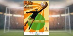 FIFA Official Poster for World Cup - Russia 2018 featuring Russian Football Legend Lev Yashin World Cup 2018, Fifa World Cup, Claudia Neumann, World Cup Tickets, Moscow Metro, Retro, Snowboard Equipment, Russia 2018, Olympic Sports