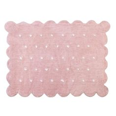 Washable Rug by Lorena Canals Biscuit Pink
