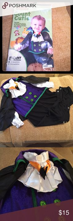 Count Cutie Costume **LIKE NEW** Your child will be the most adorable little Vampire this Halloween. Count Cutie Costume was worn only once and is in perfect condition! 👻🎃 Costumes Halloween