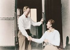 Joe Kennedy arriving in Los Angeles from New York, shakes hands with Fred Thomson, circa 1926. .♥❃❋✽✾❀❃ ♥  porn  (July 25, 1915 – August 12, 1944) http://en.wikipedia.org/wiki/Joseph_P._Kennedy,_Jr.  http://en.wikipedia.org/wiki/Fred_Thompson