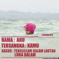 Tenggelam dalam lautan luka dalam - #GambarLucu #MemeLucu - http://www.indomeme.com/meme/tenggelam-dalam-lautan-luka-dalam/