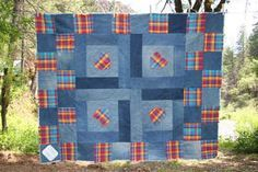 Favorite Shirt and Jeans Denim Rag Quilt